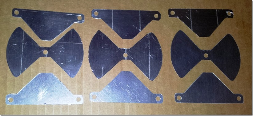 butterfly capacitor plates