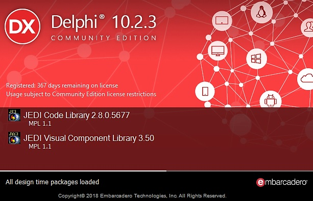 explore delphi community edition