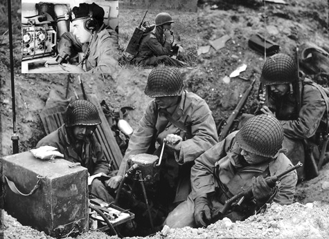 d-day radio action